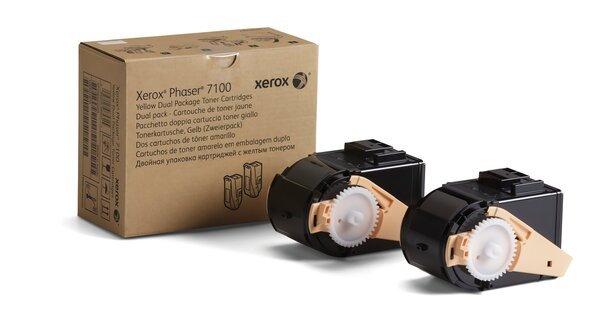 Купить Картриджи к лазерной технике, Тонер-картридж лазерный Xerox PH7100 Cyan Max (106R02609)