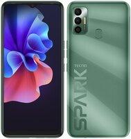 Смартфон TECNO Spark 7 (KF6n) 4/128Gb NFC Spruce Green