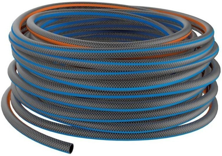 """Шланг для полива 13мм (1/2""""), 50м, Q4 Fiskars Watering, 39,5 см. 7000г фото"""