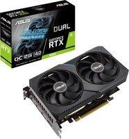 Видеокарта ASUS GeForce RTX3060 12GB GDDR6 DUAL OC V2 LHR (DUAL-RTX3060-O12G-V2)