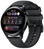Смарт-годинник Huawei Watch 3 Black