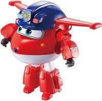 Игровая фигурка-трансформер Super Wings Transforming Police Jett, Джетт полицейский