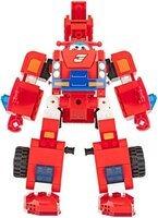 Конструктор-трансформер Super Wings Small Blocks 2-in-1 Buildable Transforming Vehicle Jett, Джетт
