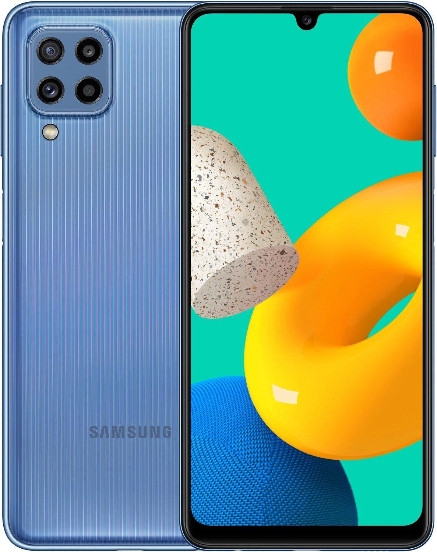 Смартфон Samsung Galaxy M32 6/128Gb Light Blueфото