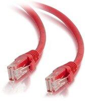 Патч-корд Cat5e C2G 1.5 м красный (CG83222)