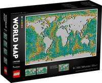 Конструктор LEGO Art Карта світу 31203