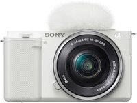Фотоаппарат SONY ZV-E10 + 16-50 White (ILCZVE10LW.CEC)