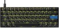 Игровая клавиатура Ducky Mecha Mini Cherry Black Aluminium Black case (DKME2061ST-AURALAAT1)