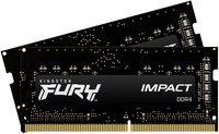 Память для ноутбука Kingston DDR4 2666 32GB KIT (16GBx2) (KF426S15IB1K2/32)