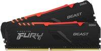 Пам'ять для ПК Kingston DDR4 3600 32GB KIT (16GBx2) Kingston FURY Beast RGB (KF436C18BBAK2/32)