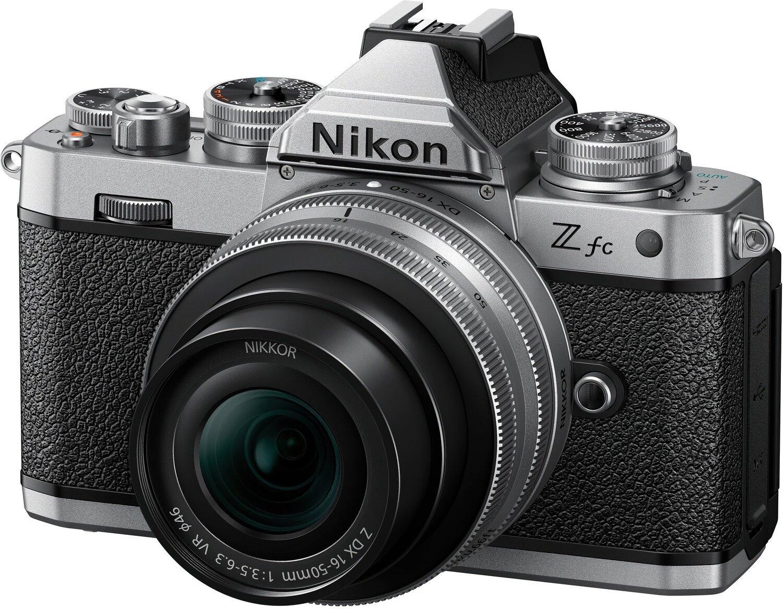 Фотоаппарат NIKON Z fc + 16-50 VR Silver (VOA090K002) фото