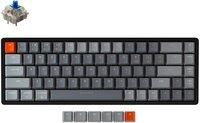 Клавиатура KEYCHRON K6 68 keys, Aluminum Frame Hot-Swap RGB, Blue (K6W2_KEYCHRON)