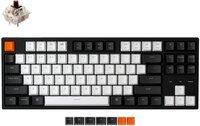 Клавиатура KEYCHRON C1 Wired 87 keys, Gateron Switch White LED, Brown (C1A3_KEYCHRON)