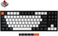 Клавиатура KEYCHRON C1 Wired 87 keys, Gateron Switch White LED, Red (C1A1_KEYCHRON)