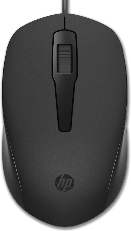 Мышь HP 150 USB Black (240J6AA) фото
