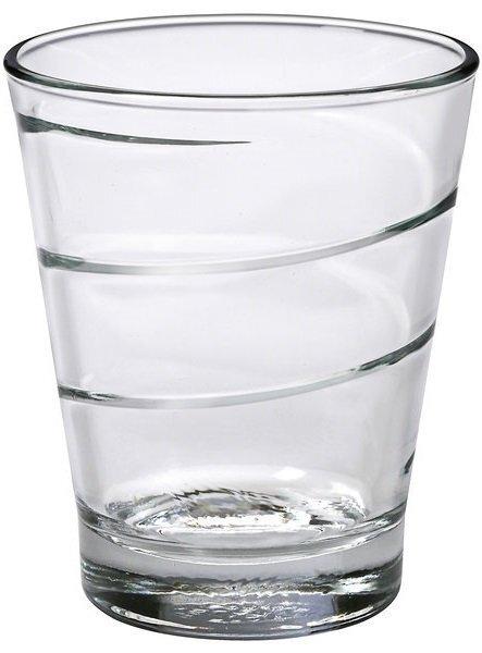 Набір склянок Duralex Spirale низько. 6*300 мл (1070AB06)фото