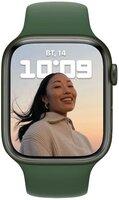 Смарт-часы Apple Watch Series 7 Green 41mm Clover Band