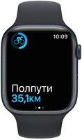 Смарт-часы Apple Watch Series 7 Midnight 41mm Midnight Band