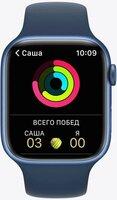 Смарт-часы Apple Watch Series 7 Blue 45mm Abyss Blue Band
