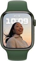 Смарт-часы Apple Watch Series 7 Green 45mm Clover Band