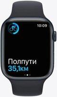 Смарт-часы Apple Watch Series 7 Midnight 45mm Midnight Band