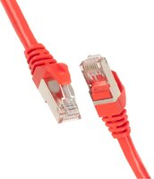 Патч-корд 2E Cat 5e, UTP, RJ45, 26AWG, 7/0.16 CCA, 0.50m, PVC, Red (2E-PC5ECA-050RD)