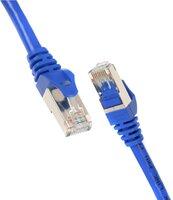 Патч-корд 2E Cat 5e, UTP, RJ45, 26AWG, 7/0.16 CCA, 1.20 m, PVC, Blue (2E-PC5ECA-120BL)