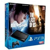 Игровая приставка SONY PlayStation 3 500Gb Super Slim + Beyond: Two Souls + Last of Us