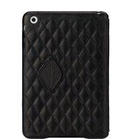 Чехол JISONCASE для IPad Mini Quilted Leather Smart Case Black