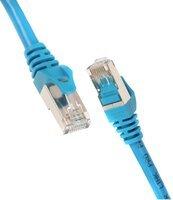 Патч-корд 2E Cat 6, S-FTP, RJ45, 4Х2 27AWG, 7/0.14 Cu, 0.50 m, PVC, Blue (2E-PC6SFTPCOP-050BL)