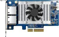 Мережева карта QNAP Dual-port BASET 10GbE network expansion card PCIe 3.0 x4 (QXG-10G2T-X710)