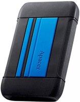 """Жесткий диск APACER 2.5"""" USB 3.2 AC633 4TB IP55 Blue (AP4TBAC633U-1)"""