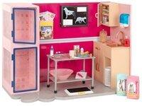 Игровой набор Our Generation Ветеринарная клиника, розовый BD35140