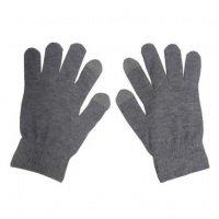 Перчатки Global touch screen (L, серые)