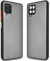 Чехол MakeFuture для Galaxy M22 Frame Matte PC+TPU Black (MCMF-SM22BK)