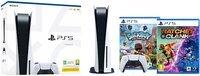 <p>Ігрова консоль PlayStation 5 + Ratchet & Clank: Rift Apart + Sackboy: A Big Advanture</p>
