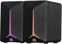 Акустична система 2E GAMING Speakers SG300 2.0 RGB 3.5mm Black (2E-SG300B)