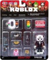 Ігрова колекційна фігурка Jazwares Roblox Avatar Shop Rare Complicated Unicorn Gangster Panda