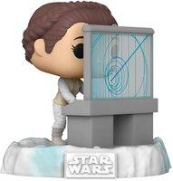 Коллекционная фигурка Funko POP! Deluxe Bobble Star Wars Leia (Exc) (FUN2549723)