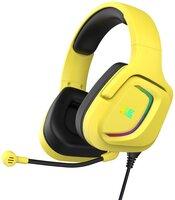 Игровая гарнитура 2E Gaming HG340 RGB 3.5mm Yellow