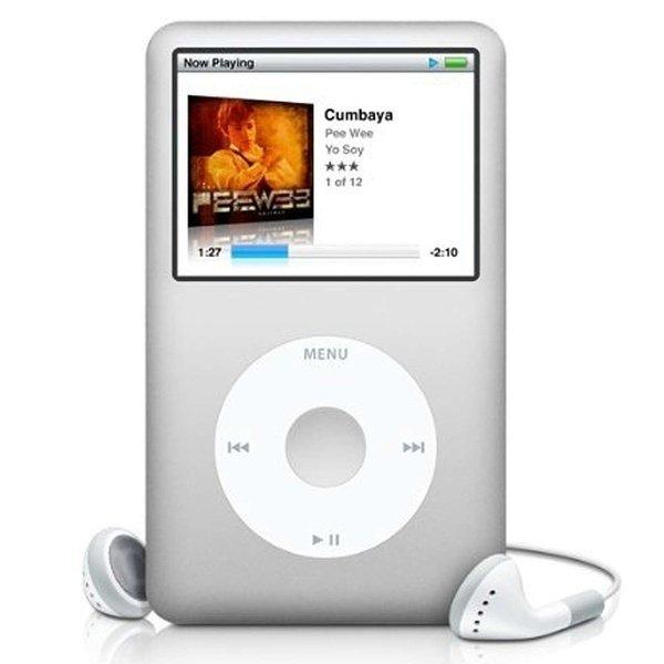 Мультимедіаплеєр APPLE iPod classic 160Gb silver фото1