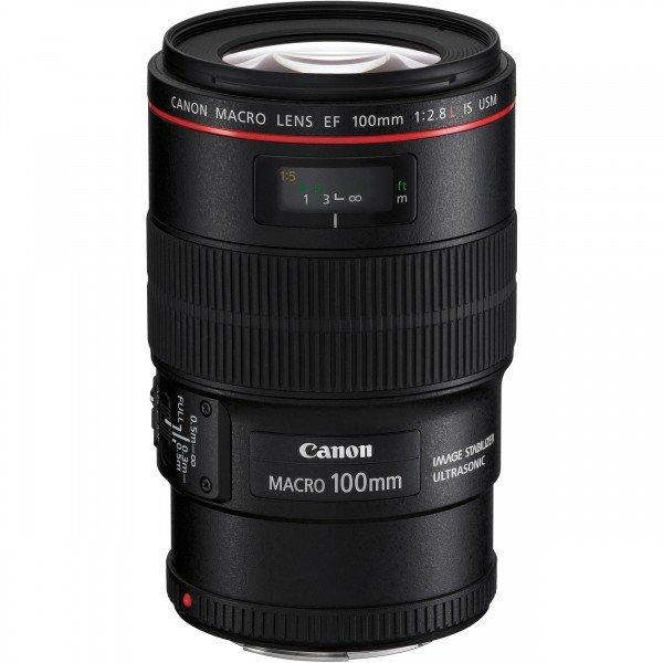 Купить Объективы, Объектив Canon EF 100 mm f/2.8L IS USM Macro (3554B005)