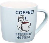Чашка Ardesto Coffee meal 330 мл, фарфор (AR3411)