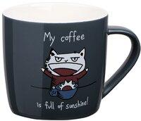 Чашка Ardesto Coffee sun 330 мл, фарфор (AR3412)