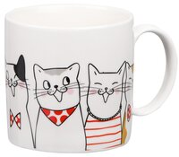 Чашка Ardesto Cats 425 мл, фарфор (AR3409)