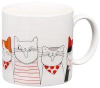 Чашка Ardesto Meow 425 мл, фарфор (AR3408)