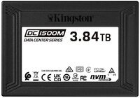 Твердотельный накопитель SSD U.2 NVMe Kingston DC1500M 3840GB Enterprise (SEDC1500M/3840G)