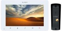 Комплект видеодомофона Slinex SM-07HD White + Вызывная панель Slinex ML-16HD Black