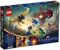 Конструктор LEGO Marvel Вечные перед лицом Аришема 76155