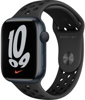 Смарт-часы Apple Watch Series 7 Nike Midnight 45mm Anthracite/Black NikeBand